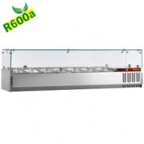 TOPPING SHELF REFRIGERATED COMPACT LINE