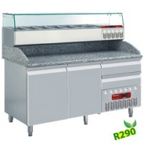 REFRIGERATED TABLES  PIZZA LINE PLUS