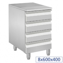 CUPBOARDS TABLES WITH DRAWERS PIZZA LINE PLUS