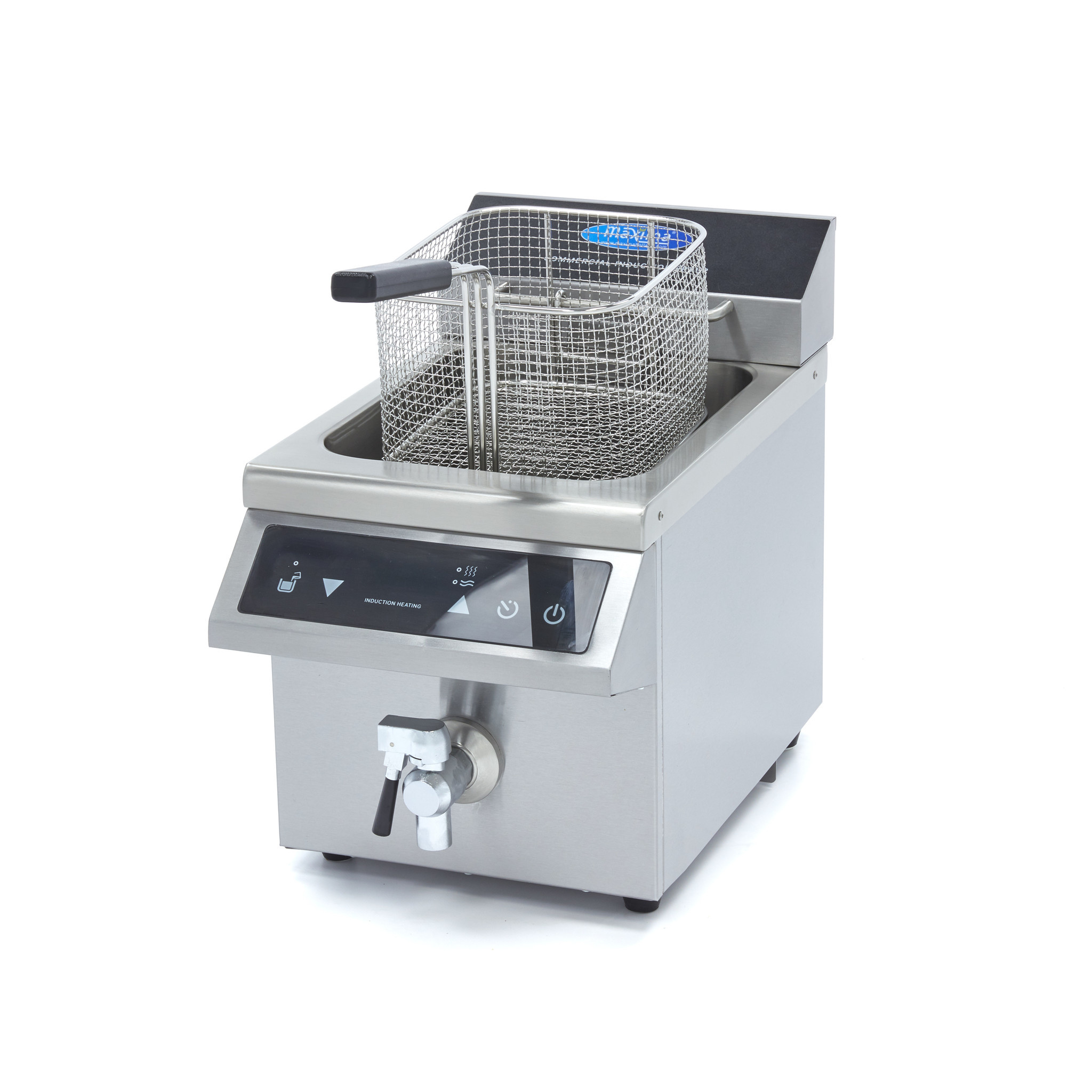 INDUCTION FRYER WITH FAUCET   1x8 L