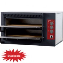 ELECTRIC PIZZA OVEN 2 CHAMBERS   E3F/24R