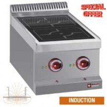 ELECTRIC RANGE 2 INDUCTION ZONES    E77/2ID4T-N-EXPO