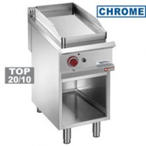 SMOOTH GAS FRY TOP, CHROMIUM-PLATED   G9/PLCA4