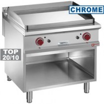 SMOOTH GAS FRY TOP, CHROMIUM-PLATED    G9/PLCA8