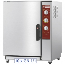 Electric oven regeneration - holding 10x GN 1/1 + humidifier FRU-1011/N