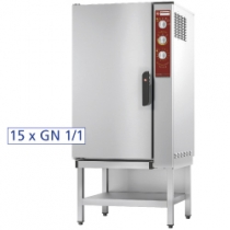 Electric oven regeneration - holding 15x GN 1/1 + humidifier FRU-1511/N