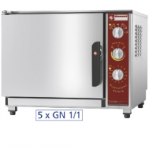 Electric oven regeneration - holding 5x GN 1/1 + humidifier FRU-511/N