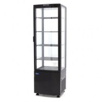 maxima-refrigerated-display-case-235l-black