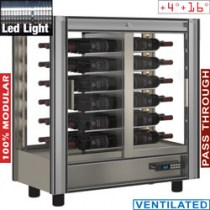 WINECOOLER 216 L MODULAR PASS TROUGH       PVV-1/TR